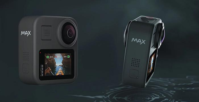 GoPro Reveals Dual-Lens, Waterproof GoPro Max with Front Facing Screen - Cameraland Sandton