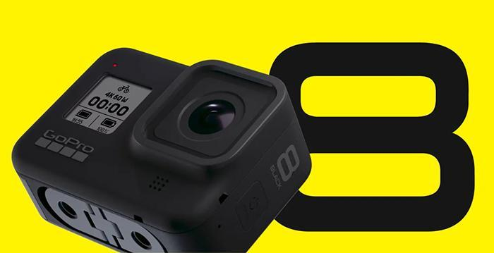 GoPro Unveils Hero8 Black with Digital Lenses, Expansion Mods, and More | Cameraland Sandton
