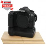 Canon EOS 80D & Battery Grip (Pre-owned) | Cameraland Sandton
