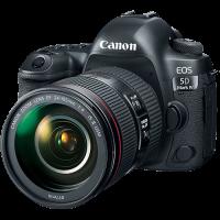 Canon EOS 5D Mark IV DSLR Camera + 24-105mm f/4L II Lens
