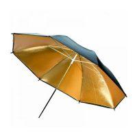 "Black Gold Reflector 33"" (84cm) Umbrella - Cameraland Sandton"