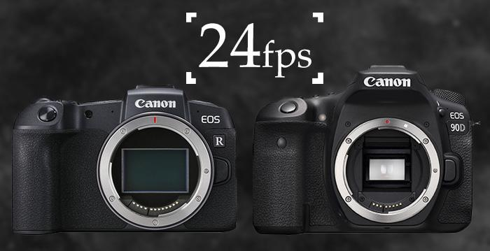 Canon added 24p video to the EOS RP & 90D | Cameraland Sandton