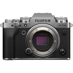 FUJIFILM X-T4 Mirrorless (Body Only, Silver) Cameraland Sandton