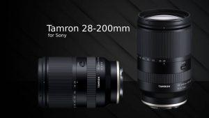 Tamron 28-200mm F2.8-5.6 for E-mount