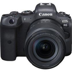 Canon EOS R6 Mirrorless with 24-105mm f/4-7.1 | Cameraland Sandton