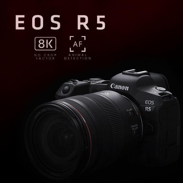 Canon EOS R5 Mobile Banner