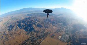 GoPro Erik Roner's Umbrella Skydive Cameraland Sandton