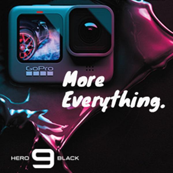 GoPro Hero 9 Mobile Banner