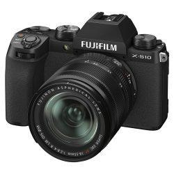 FUJIFILM X-S10 Mirrorless Digital Camera with 18-55mm Lens | Manmeister
