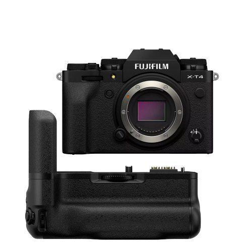 FUJIFILM X-T4 Mirrorless & Vertical Battery Grip (Body Only Black) | Cameraland Sandton