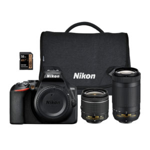 Nikon D3500 DSLR With 18-55mm and 70-300mm