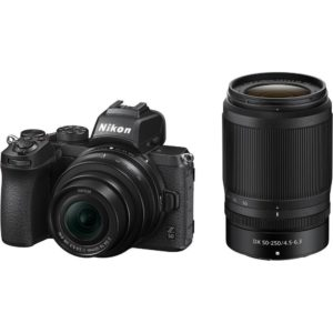 Nikon Z50 Mirrorless with 16-50mm, 50-250mm and FTZ Adaptor