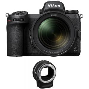 Nikon Z 6II Mirrorless with 24-70mm f/4 Lens & FTZ - Cameraland Sandton