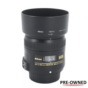 Nikon AF-S 40mm f/2.8G DX Micro (Pre-owned) - Cameraland Sandton