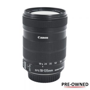 Canon EF-S 18-135mm IS (Pre-owned) | Cameraland Sandton