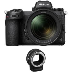 Nikon Z7 II Mirrorless & 24-70mm F4 S + FTZ - Cameraland Sandton