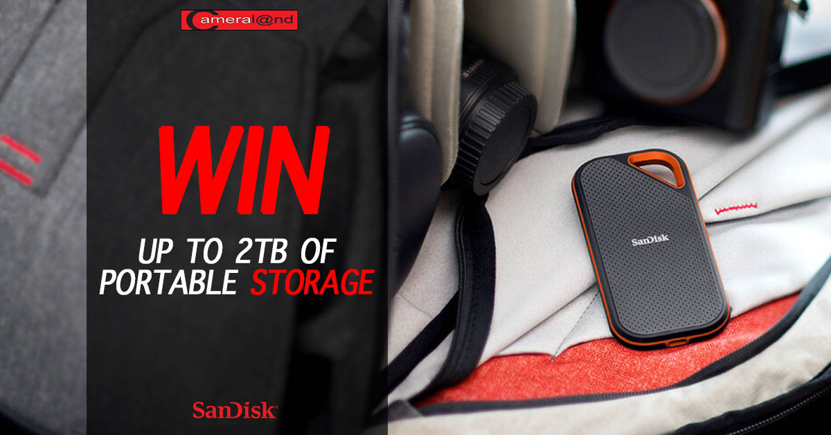 WIN up to 2TB of Portable Storage! - Cameraland Sandton