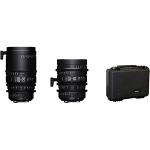 Sigma 18-35mm and 50-100mm Lenses with Case