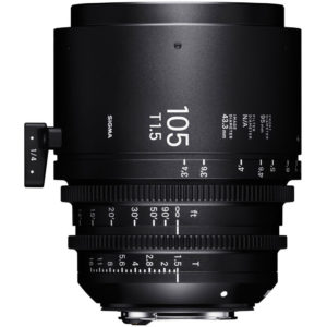 Sigma 105mm T1.5 FF High-Speed Prime Lens