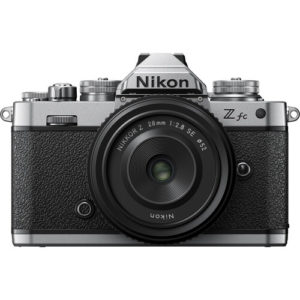 Nikon Z fc with 28mm