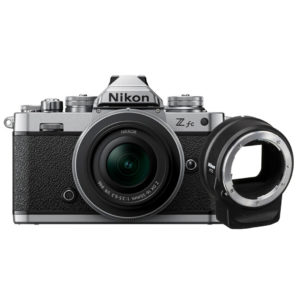 Nikon Z fc with 16-50mm and ftz adapter