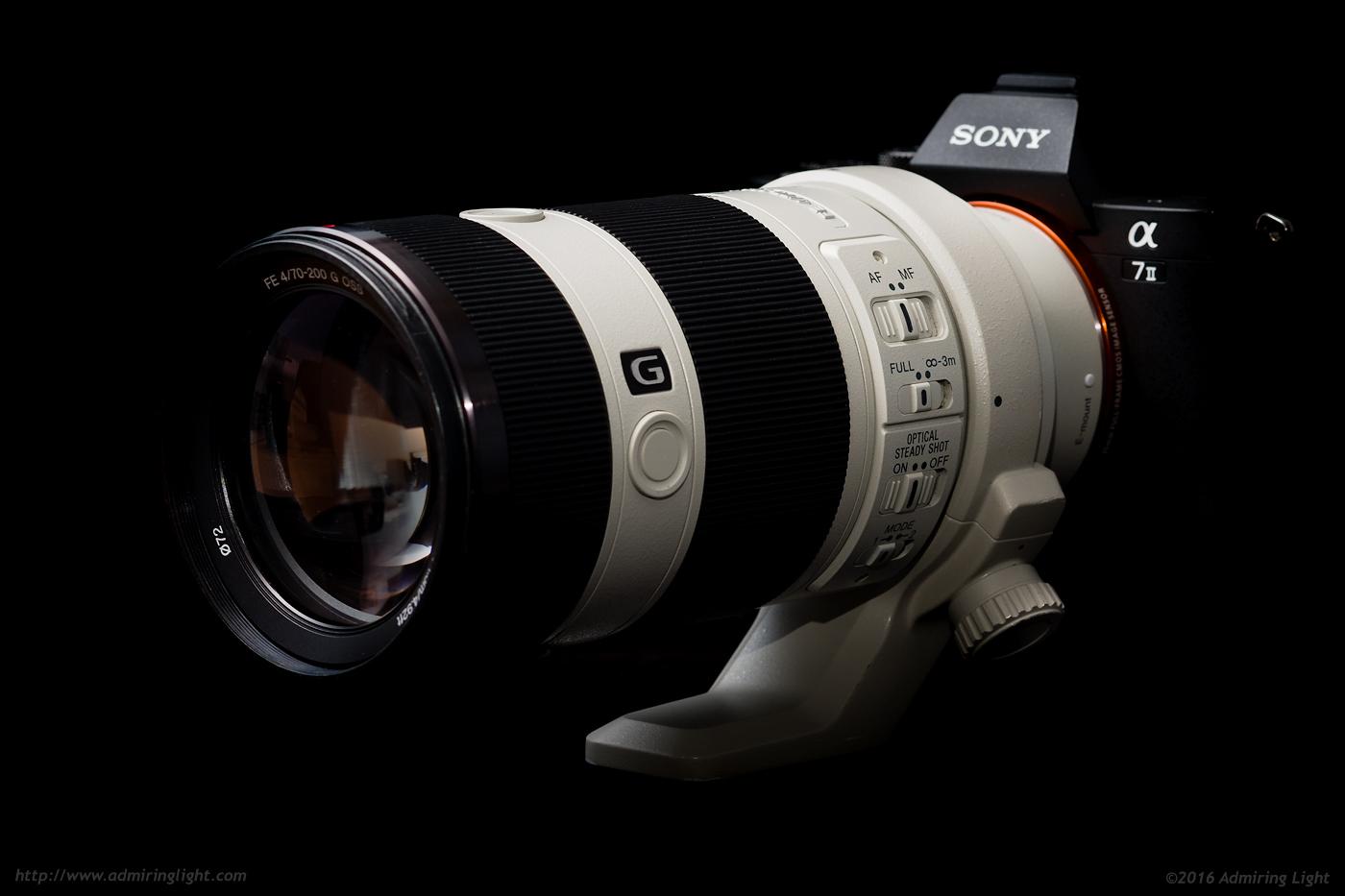 Sony 70-200mm lens