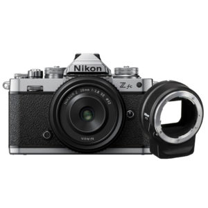 Nikon Z fc with 28mm and FTZ