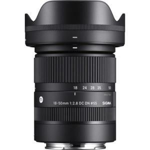 Sigma 18-50mm f/2.8 DC DN Contemporary Lens for Sony E
