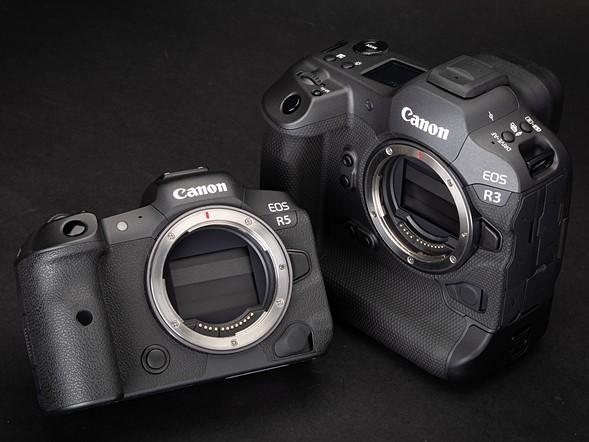 Canon R3 vs R5